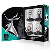Domez Nightmare Before Christmas Series 4 Collector's Box Set - Vampire Jack Skellington, Sandy Claws, Sally & Zero - Authentic & Highly Detailed Collectible Characters - Connect, Collect, Display