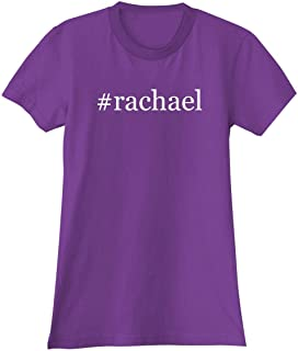 The Town Butler #Rachael - A Soft & Comfortable Hashtag Women's Junior Cut T-Shirt