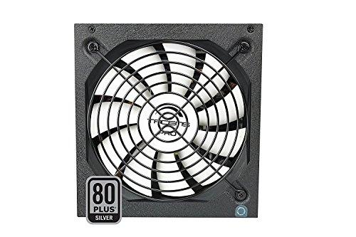 Tacens 1RVIIAG700 - Fuente de alimentación para ordenador (700W, 87% de eficiencia, ATX, 12V, ventilador 14 cm, 80 Plus Silver, estándares ecológicos) color negro