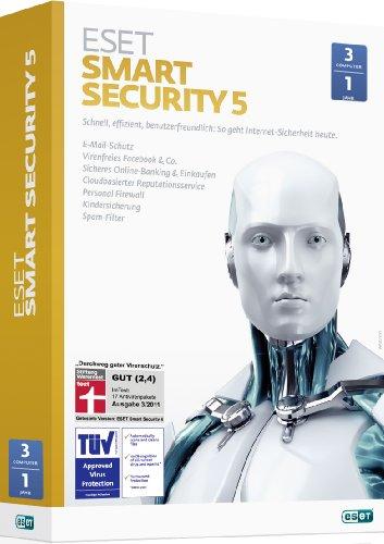 ESET Smart Security 5 - 3 PCs / 1 Jahr