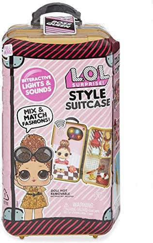 L.O.L. Surprise! Style Suitcase Interactive Surprise - Boss Queen