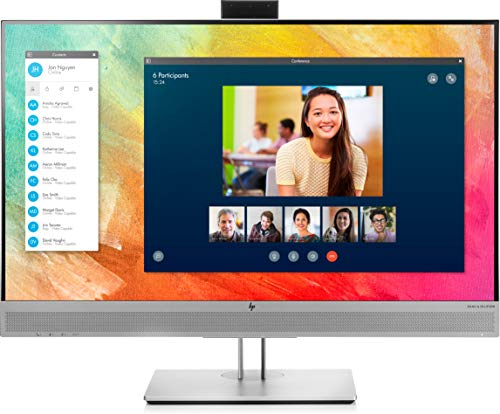 HP EliteDisplay E273m (27 Zoll / Full HD) Business Monitor (HDMI, DisplayPort, VGA, USB, Pivotfunktion, Reaktionszeit 5ms, 60Hz) silber