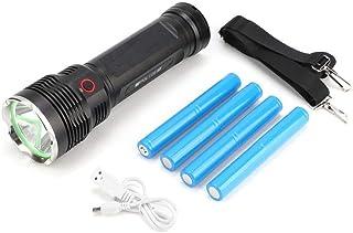 01 Lanterna tática de LED, lanterna portátil IPX4 à prova d'água, carregamento USB, três modos de iluminação, lanterna à p...