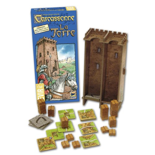 Devir Carcassonne La Torre, Brettspiel (BGTORRE)