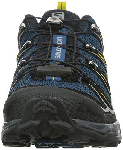 SALOMON X Ultra 2, Chaussures de Randonnée Basses Homme, Gris (Autobahn/Black/Steel Grey), 45 1/3...
