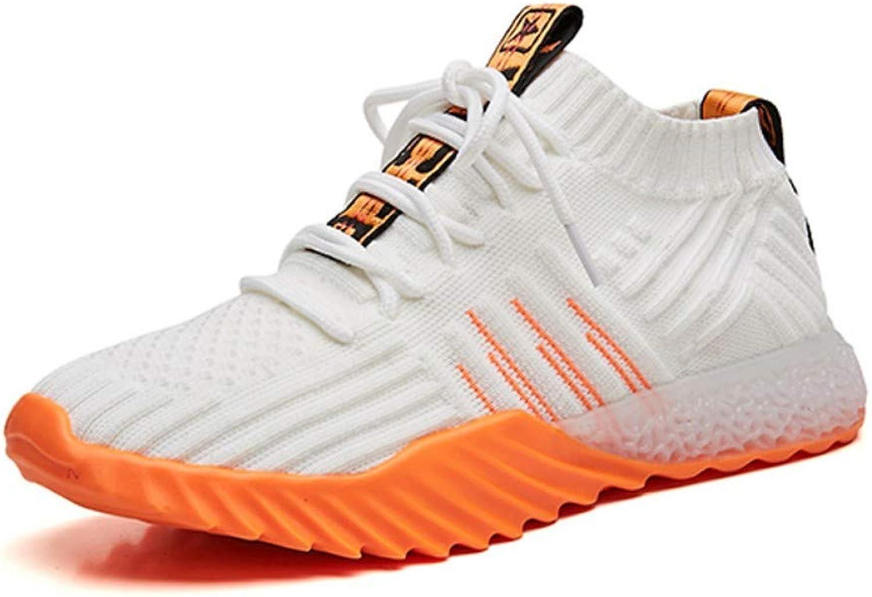 ZHIJINLI Fliegende gewebte Schuhe atmungsaktives Mesh Schuhe Sportschuhe lässig lässig lässig flach mit einzelnen Schuhen Gezeitenfedernetz, 36EU  a8a57c