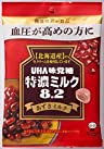 味覚糖 食品 特濃ミルク8.2 あずきミルク 93g×6袋 [機能性表示食品]