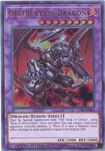 yu-gi-oh Destruction Dragon - LC06-EN003 - Ultra Rare - Limited Edition - Legendary Collection Kaiba Mega Pack (Limited Edition)