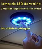 lampada LED da tettino Luce ambiente Illuminazione dell'abitacolo dell'auto Accessori per auto Allestimenti interni Luce decorative Lampade Luci e barre al neon Lampadine Parti lampada LED