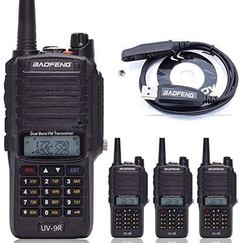 4pcs BaoFeng UV-9R Two Way Radio