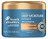 Head & Shoulders Deep Moisture Masque Royal Oils 7.6 Ounce Jar (225ml) (2 Pack)