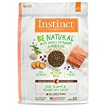 Instinct Be Natural Real Salmon & Brown Rice Recipe Natural Dry Dog Food by Nature's Variety, 24 lb....