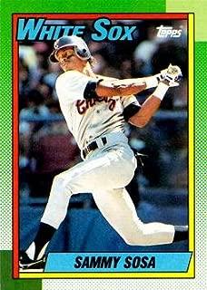 1990 Topps Baseball #692 Sammy Sosa Rookie Card