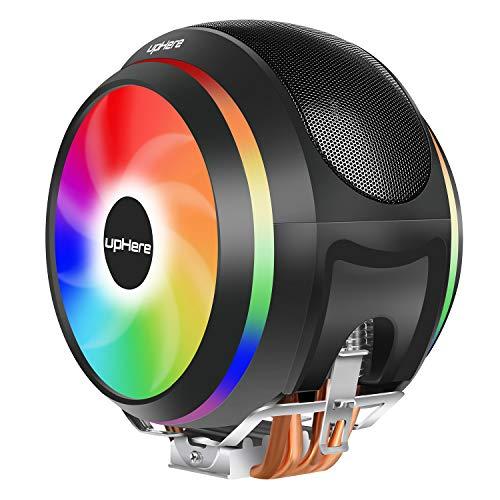 Novonest オリジナル設計 サイドフローCPUクーラー デュアル 5V ARGBファン採用 AURA Sync対応 Intel/AMD両対応【CCF150ARGB】