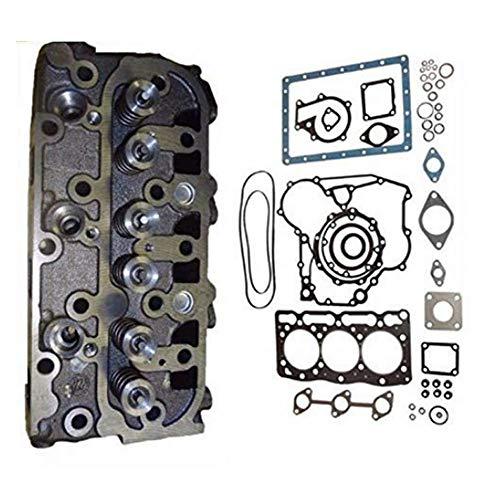 Complete Cylinder Head + Full Gasket Kit For Kubota D1105 Engine