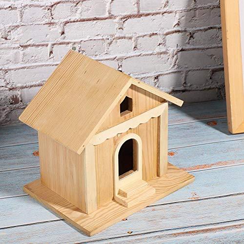 EFFACER Bird House Kit, langlebige Vogelhäuser für draußen, DIY handgemacht für Kinder, um einen Vogel-Enthusiasten-Garten zu Bauen