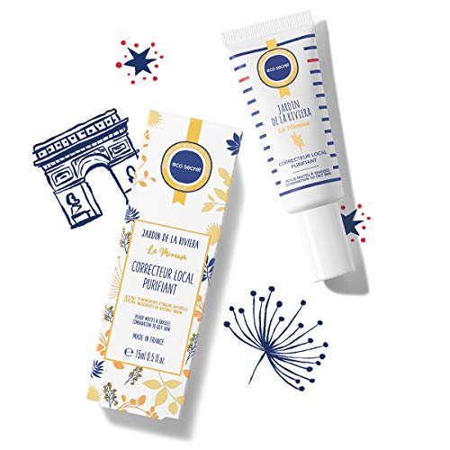 ECOSECRET PARIS - Correcteur Local Purifiant – Visage - Peau Mixte à Grasse – 15 ml – Soin ciblé - Excès de Sébum – Anti-Imperfection - Fabriqué en France - Extrait Naturel Mimosa Riviera
