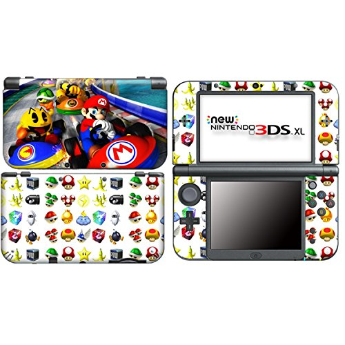 MARIO KART C for New Nintendo 3DS XL Skin Vinyl Decal Stickers (New 2ds Xl Vs New 3ds Xl)