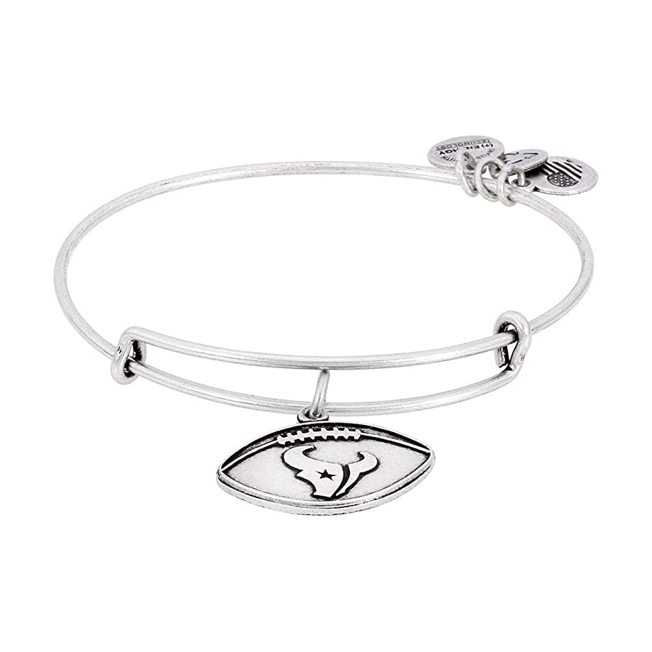 Alex and Ani Womens NFL Houston Texans Football Bangle