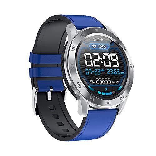 HDSJJD Smartwatch, Pantalla De Color De Alta Definición, con Frecuencia Cardíaca, Presión Arterial, Monitoreo del Sueño, Reloj Bluetooth Sports A Prueba De Agua, Compatible con iOS, Android,D