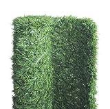 Atout Loisir Haie végétale Artificielle 243 brins, Long 6 m, Hauteur 1 m