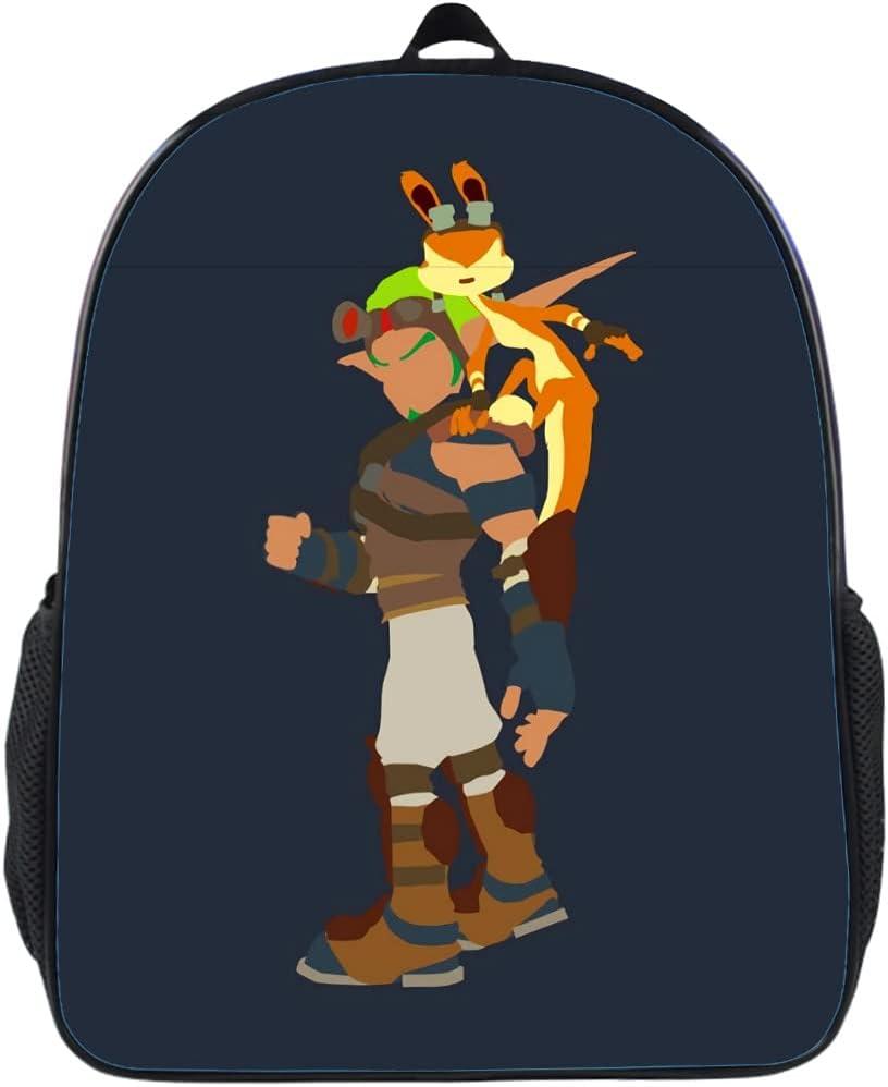 Jak Daxter Kid Schoolbag Backpack S Resistant Max 77% OFF Water ...