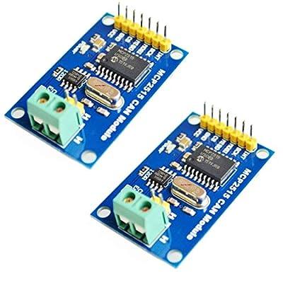 2pcs MCP2515 CAN Bus Module TJA1050 Receiver SPI Module for Arduino AVR