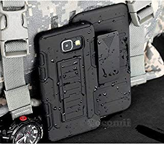 Cocomii Robot Armor Galaxy A5 2017 Case New [Heavy Duty] Premium Belt Clip Holster Kickstand Shockproof Bumper [Military Defender] Full Body Rugged Cover for Samsung Galaxy A5 2017 (R.Black)