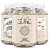 Natural Vaginal PH Balance for Women Pills – Yeast Infection Treatment, Vaginal Health, Vaginal Odor Cleanse for Fresh & Happy Vagina – Plant Based Vaginial PH Products – 90 Veggie Feminine Capsules