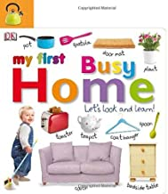 Tabbed Board Books: My First Busy Home: Let's Look and Learn! (TAB BOARD BOOKS)