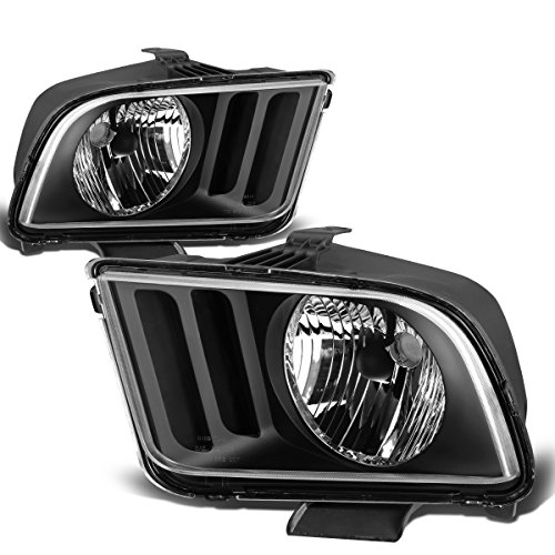 08 mustang black headlights - 9