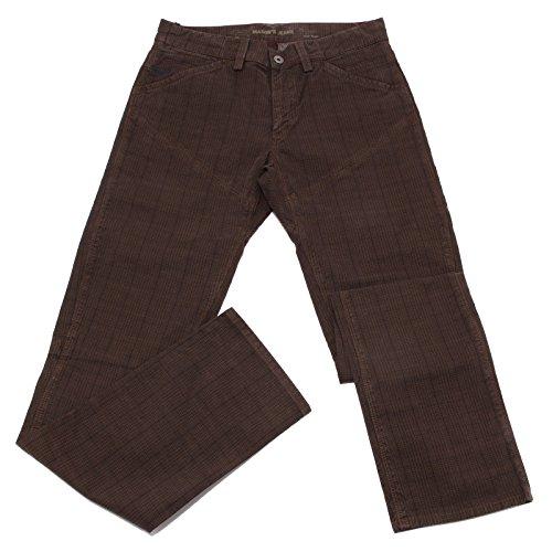 Mason's 3156U Pantalone Uomo Jeans Ronnie Marrone Brown Jeans Men [30]