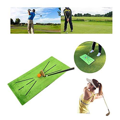Alfombrilla de Entrenamiento de Golf para el bateo de detección de Swing-analiza...