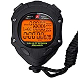 Digital Stopwatch Timer with Back Light Stop Watch 0.001second Timing|100 Lap Memory,Large dispaly Alarm Clock for Coach Sports Swimming Running Marathon Competition(100LAP(Back Light))