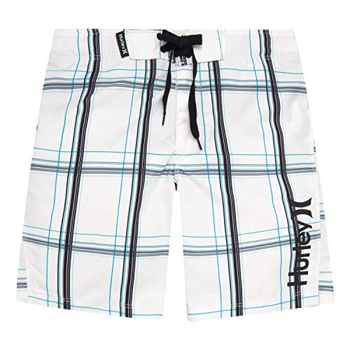 Hurley Boys' Little Board Shorts, White 5