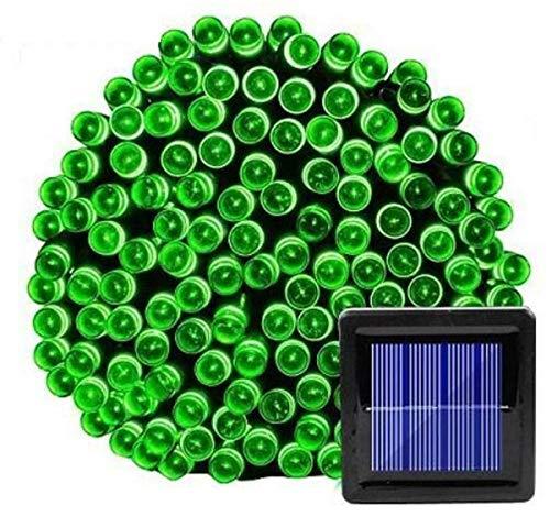 SUN100 Luces De Hadas Solares Al Aire Libre Impermeable Calle Guirnalda Casa Decoración De Jardín De Navidad Luces De Hadas Con Cadena