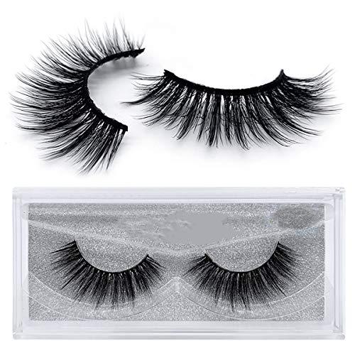 3D Individual Thick Mink lashes Fake Eyelashes 5 pair 3D Natural False Eyelashes Lashes Long Natural Eyelashes
