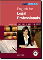 Express Series: English for Legal Professionals: Express Series: English for Legal Professionals Student's Book and MultiROM Pack by Andrew Frost(2009-10-22)