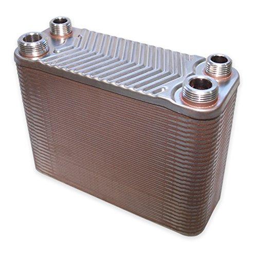 Scambiatore di calore in acciao inox Hrale 60 dischi max. 130 kw Scambiatore termico lamellare