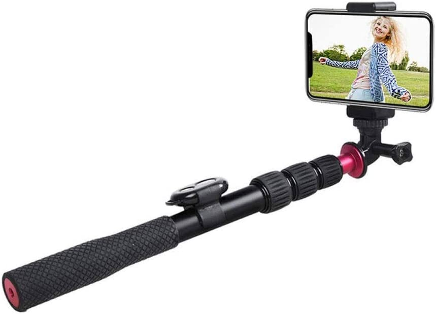 Qin Portable 38 Inch Aluminum Alloy Selfie Animer and price revision wi Phone Stick Tripod 5 ☆ popular