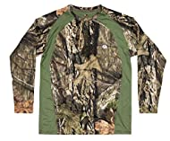 DESIGN: This camouflage t-shirt is made from breathable and durable 88% polyester/12% elastase main body fabric with a 100% polyester mesh back panel for added ventilation - All Powered by Cool core technology. Also includes a inner lens cloth wipe. ...