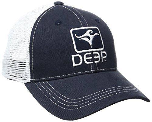 Deep Ocean Trucker Chapeau, Homme, Navy Blue/White, Taille Unique