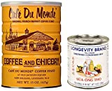 Cafe Du Monde coffee and Longevity brand condensed milk (Pack of 2)