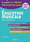 Education musicale - Oral / admission - CRPE 2020-2021 (2020-2021)