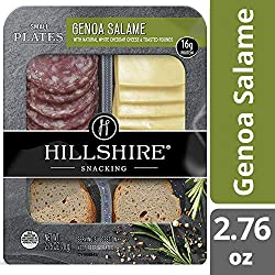 Hillshire Snacking Meat and Cheese Snack, Genoa Salame and Natural White Cheddar Cheese, 2.76 oz Pac