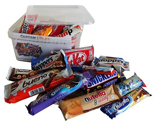 Scatola speciale con Assortimento di barrette di cioccolato 1kg