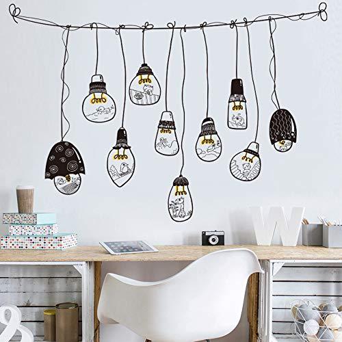 Wandtattoo Kronleuchter Schlanke Minimalistische Schlafzimmer Wanddekoration Wandaufkleber Kreative Wohnzimmer Wandaufkleber