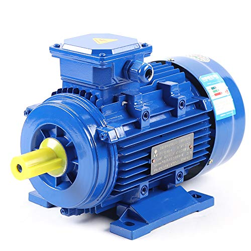 Elektromotor 3-phas Elektromotor 380V 1.5KW Motor Drehstrommotor 1500U/min Starre Basis Durchmesser 24 mm 2-polig