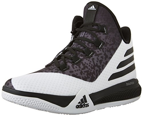 adidas Performance Men's Light Em Up 2 Basketball Shoes,White/Black/Onix Grey,15 M US