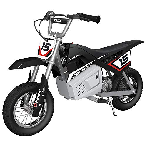 commercial RazorMX400 Dirt Rocket Kids Accelerate on Toy 24VE-Motocross, Dirt Bikes … razor girl bike